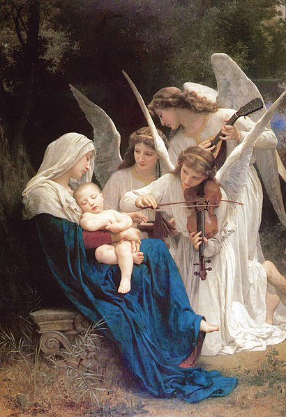 410px-William-Adolphe_Bouguereau_(1825-1905)_-_Song_of_the_Angels_(1881)